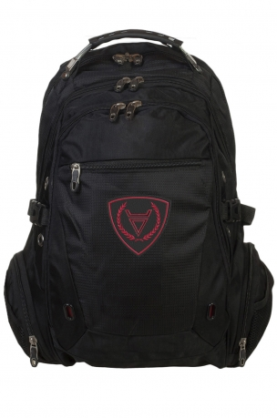 Многоцелевой черный рюкзак с символом Бога Велеса