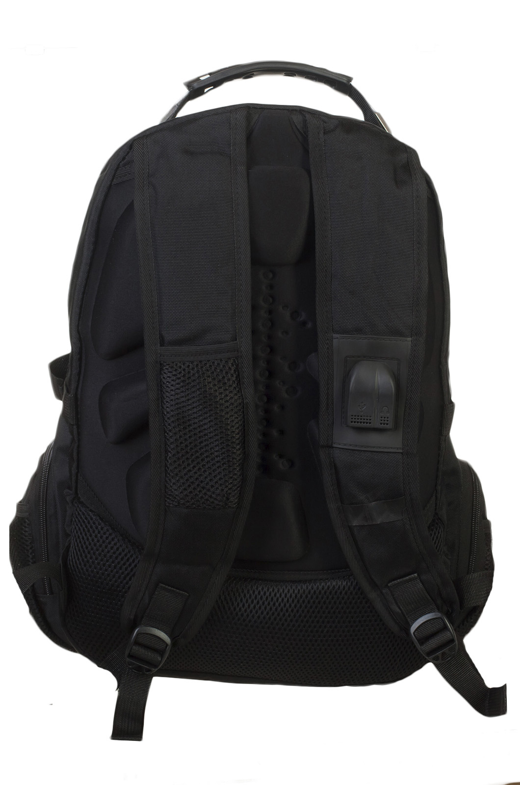Многоцелевой черный рюкзак с символом Бога Велеса купить онлайн