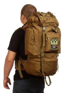 Многоцелевой крутой рюкзак с нашивкой Герб России - заказать в Военпро