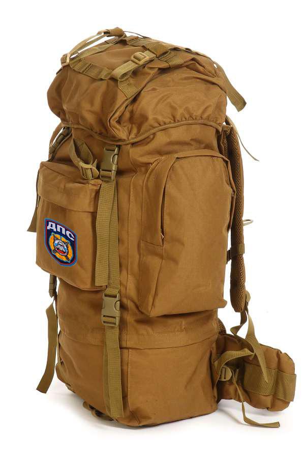 Многоцелевой надежный рюкзак с нашивкой ДПС - заказать в Военпро