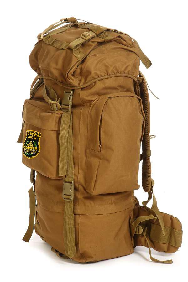 Многоцелевой надежный рюкзак с нашивкой Танковые Войска - купить в Военпро
