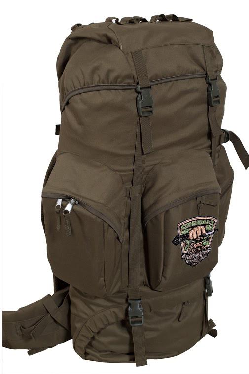 Многоцелевой охотничий рюкзак с нашивкой Охотничий Спецназ - заказать выгодно