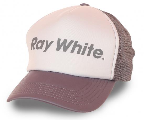 Модная бейсболка  Ray White для прогулок и тусовок