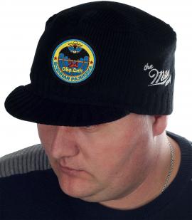 Модная черная шапка-кепка от Miller Way - купить в розницу