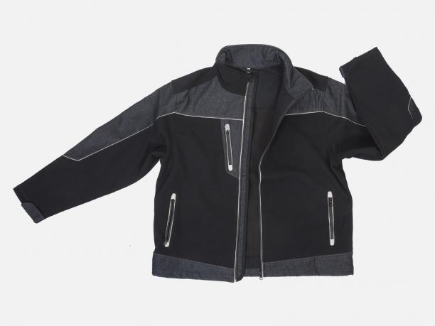 Модная демисезонная мужская куртка на флисе