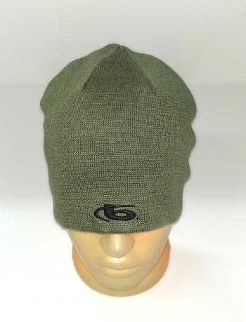 Модная двухсторонняя шапка