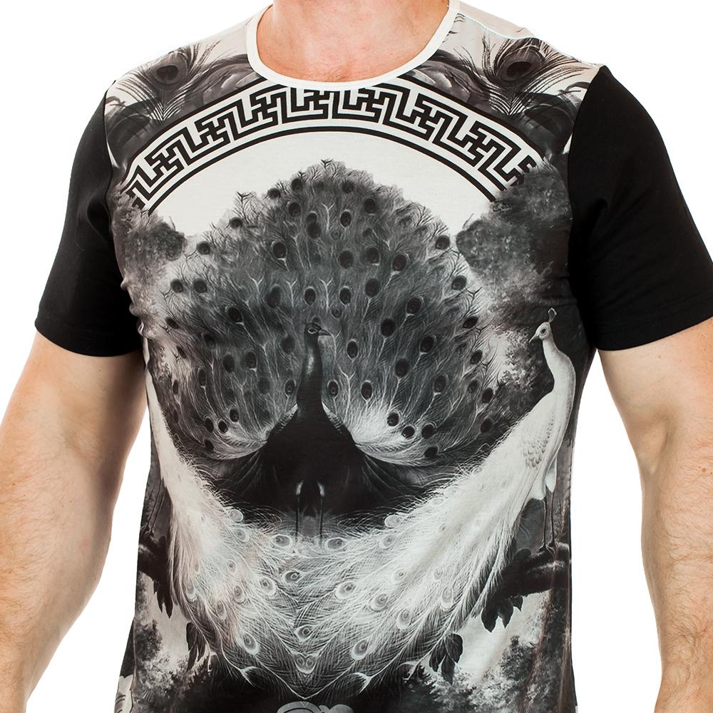 Модная футболка для мужчин от ТМ Splash – оригинальный принт для ценителей эксклюзивного дизайна