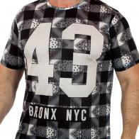 Модная мужская футболка от ТМ Max Youngmen.