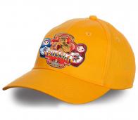 """Модная кепка """"Russia"""" с национальными символами. Качественная модель для истинных патриотов. Выбирайте достойные вещи!"""