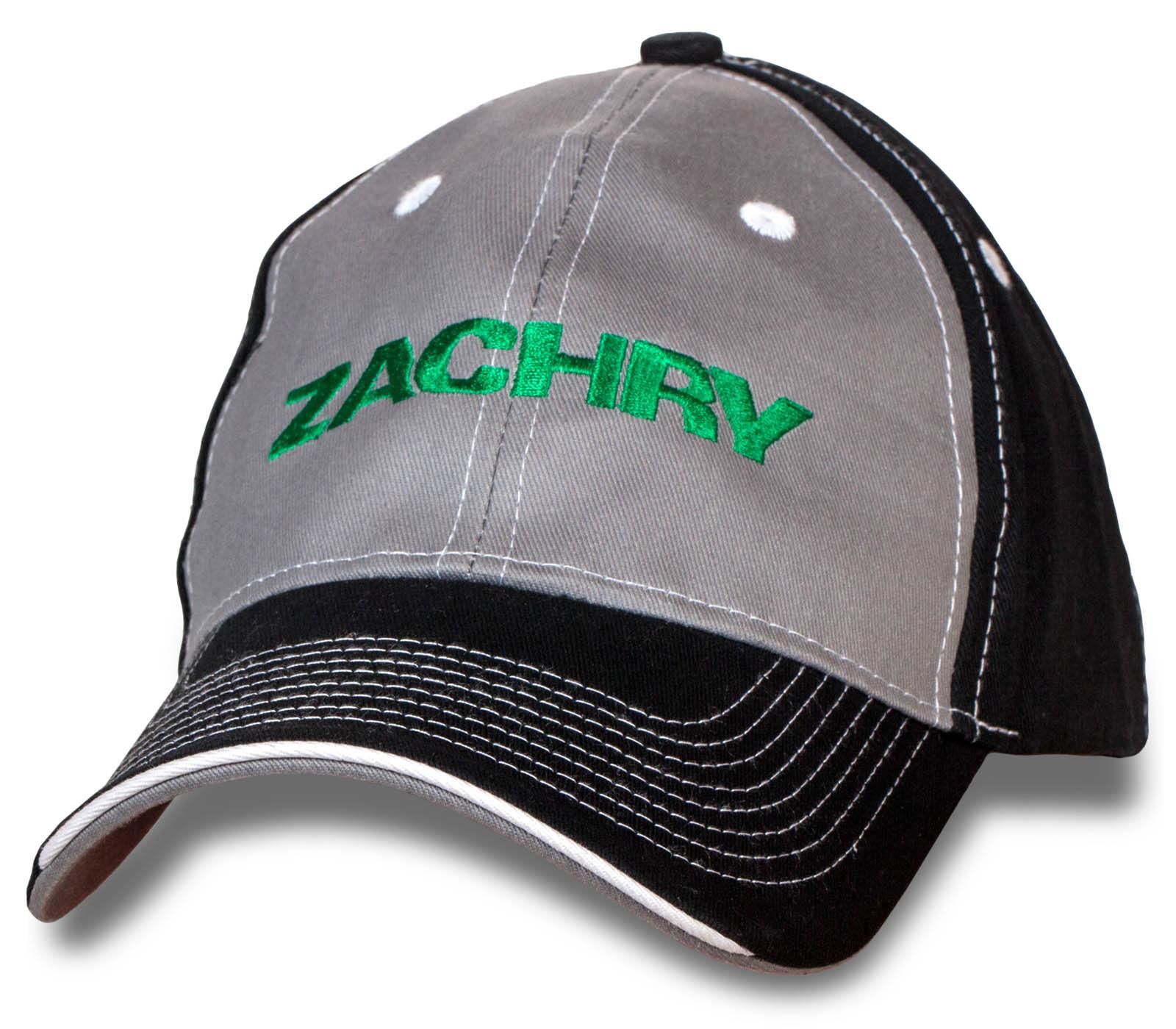 Модная кепка Zachry.