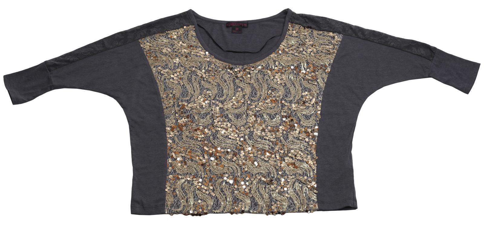 Модная кофточка от Rock&Roll CowGirl с пайетками, дизайнерского покроя