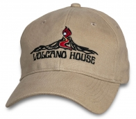 Модная летняя кепка Hawaii Volcano House.