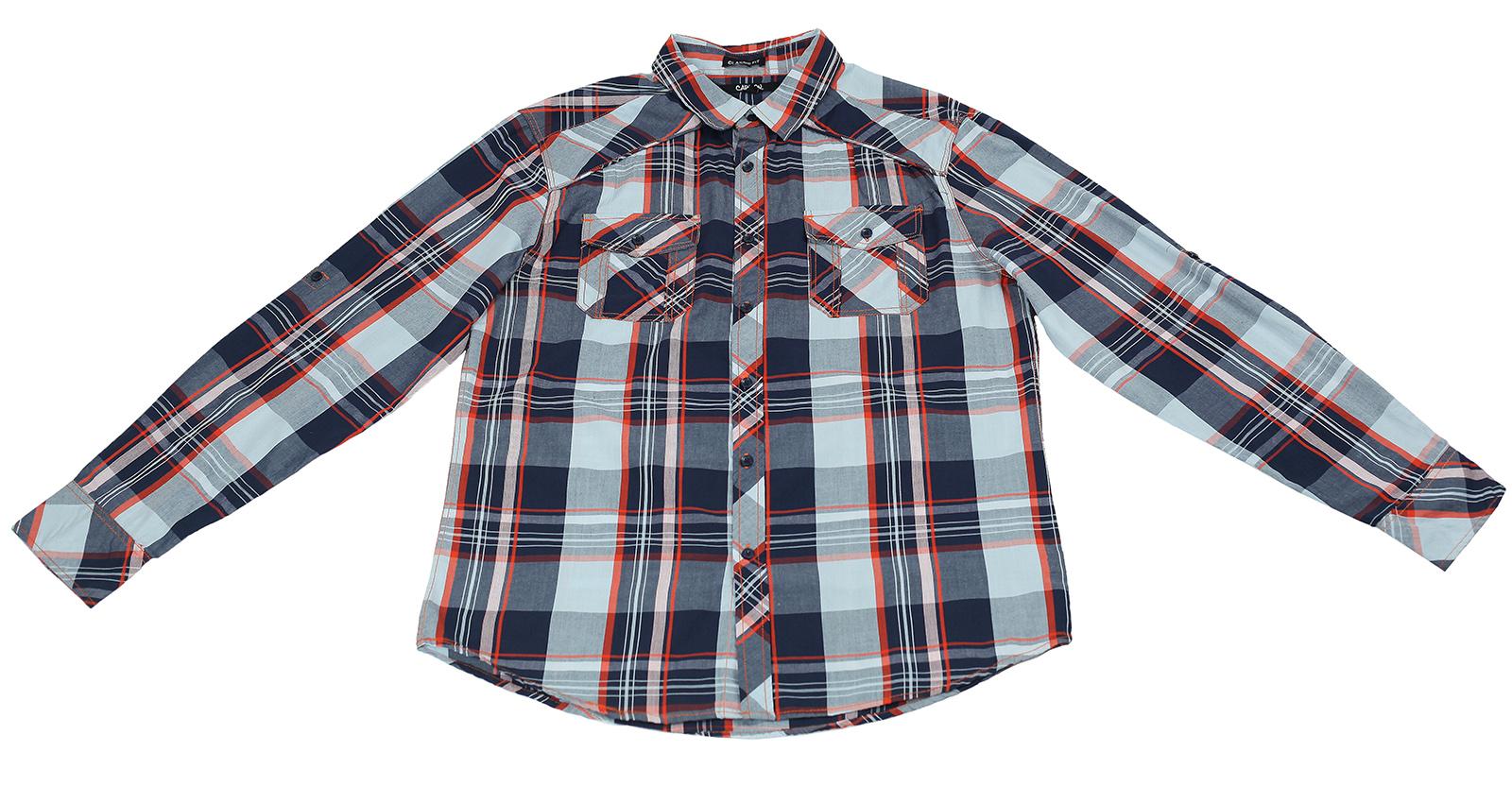 Оригинальная мужская рубашка от Carbon для сильных мужчин