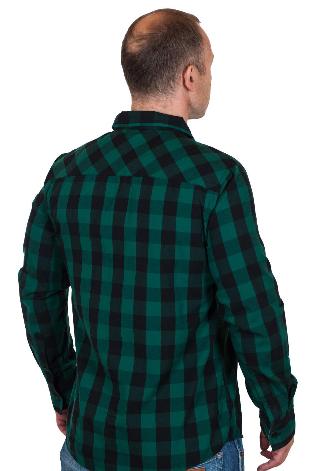 Модная мужская рубашка Colegao Csl - вид сзади
