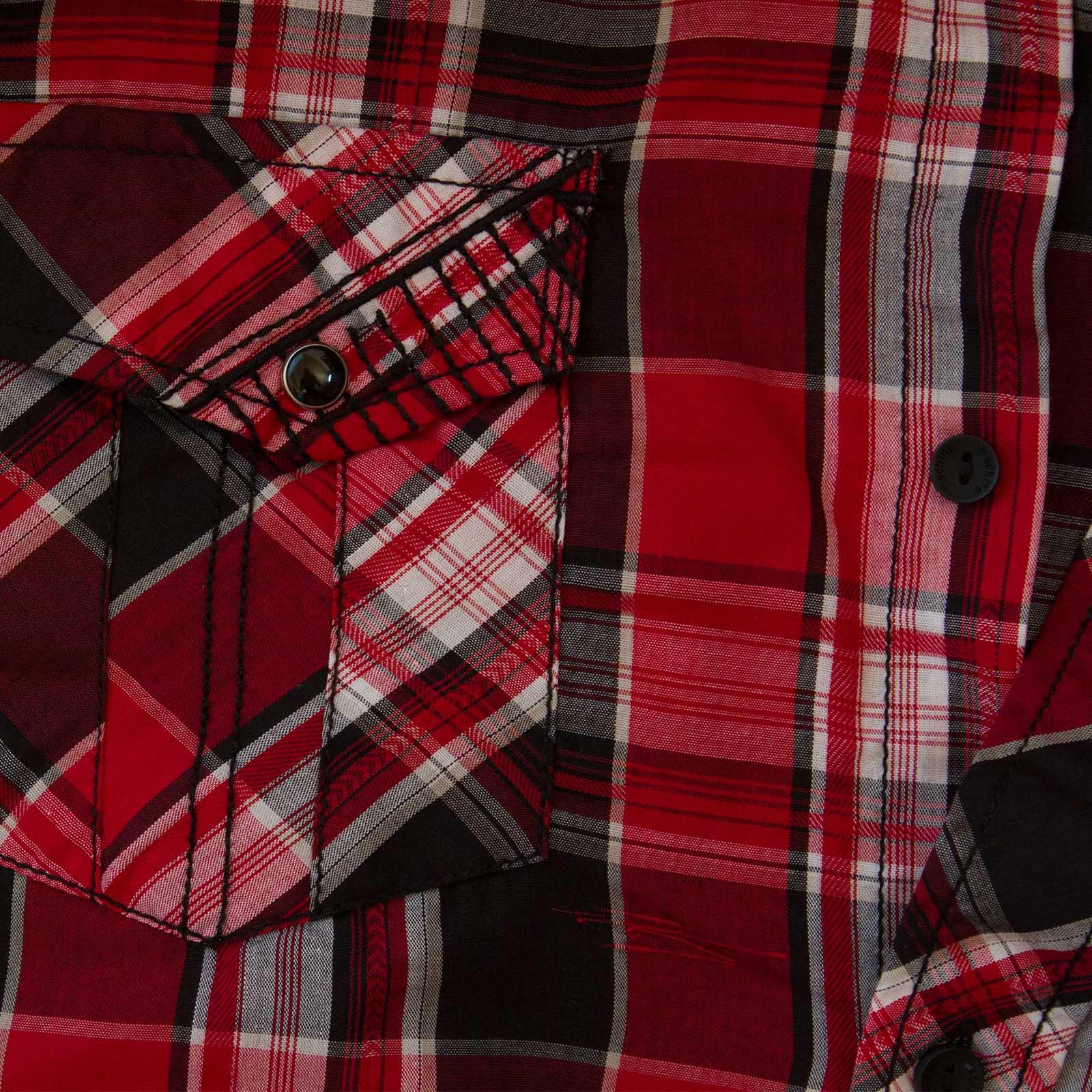 Модная мужская рубашка Machine - карман