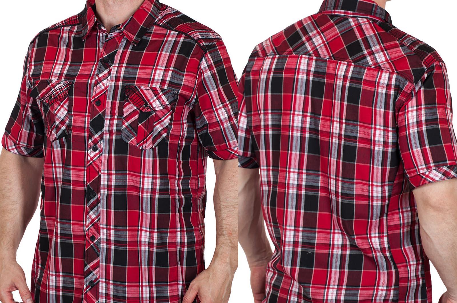 Модная мужская рубашка Machine