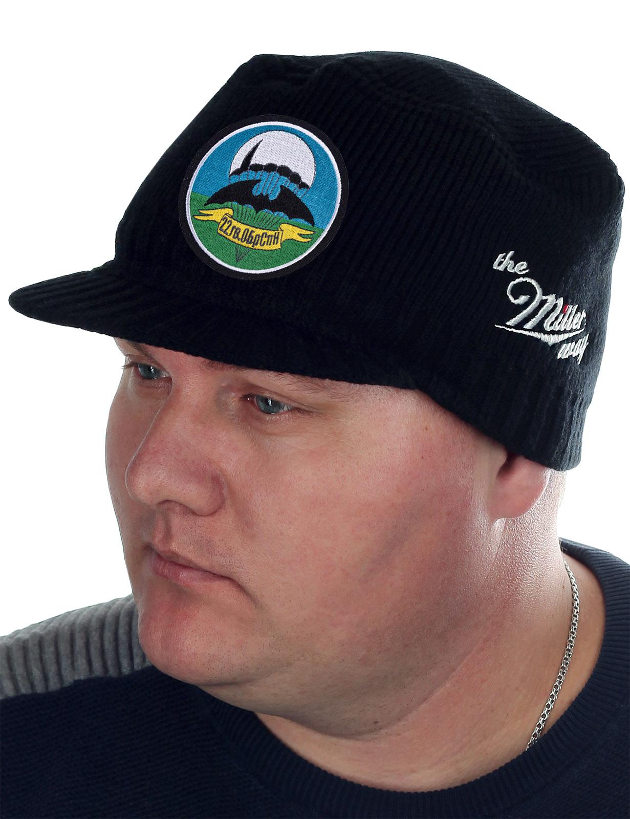 Модная мужская шапка с козырьком от Miller Way