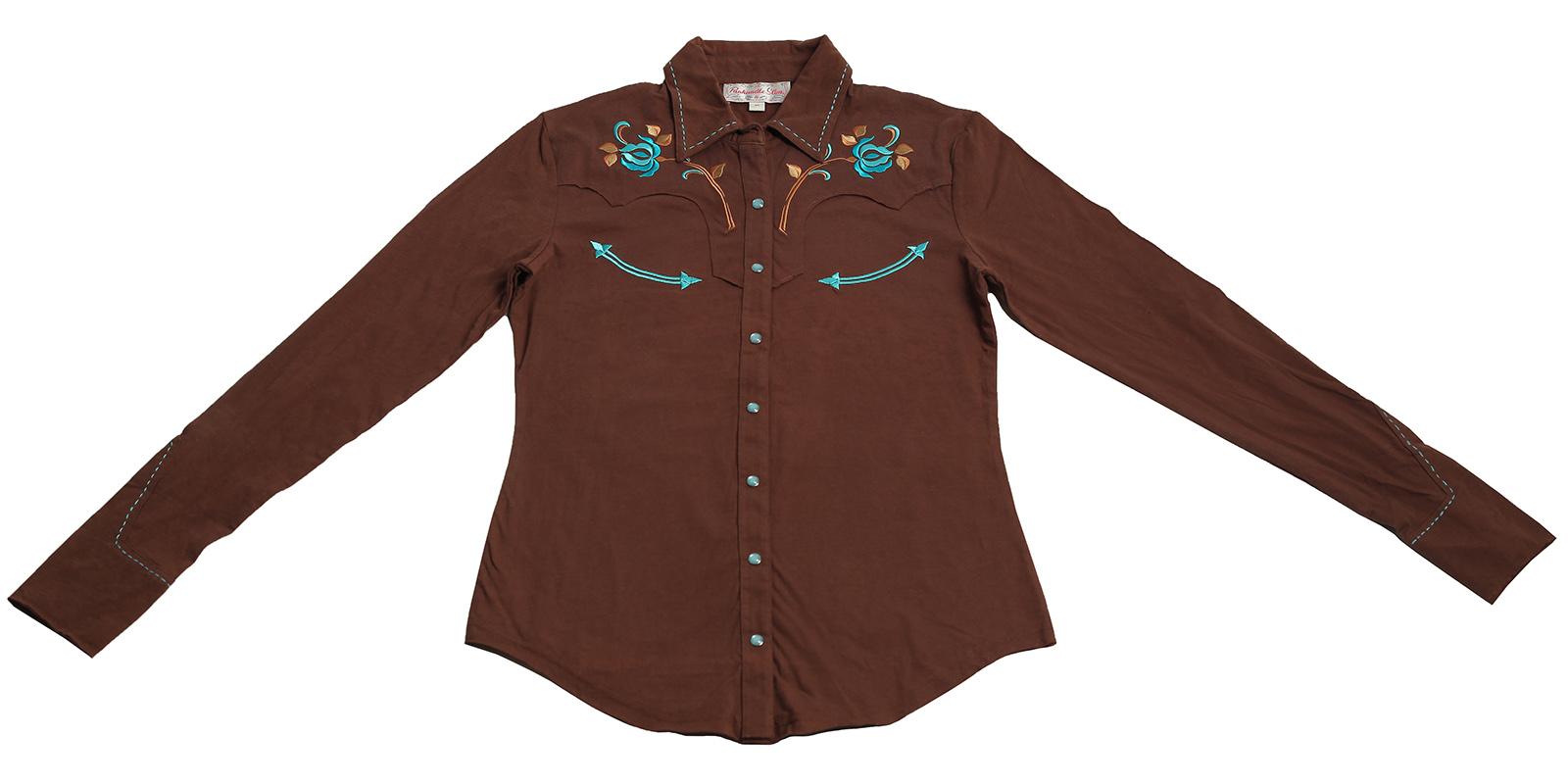 Модная рубашка Panhandle Slim в стиле кантри для очаровательных натур