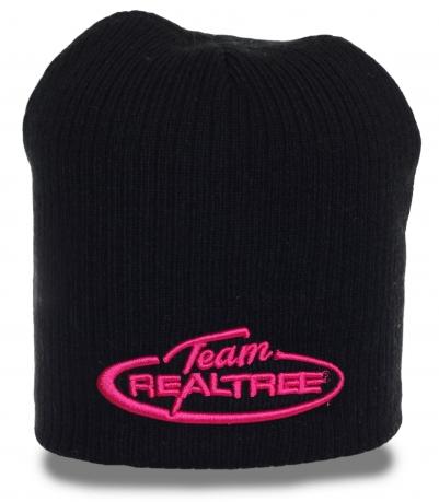 Модная шапка Realtree для стильных красоток. Теплая современная модель по демократичной цене