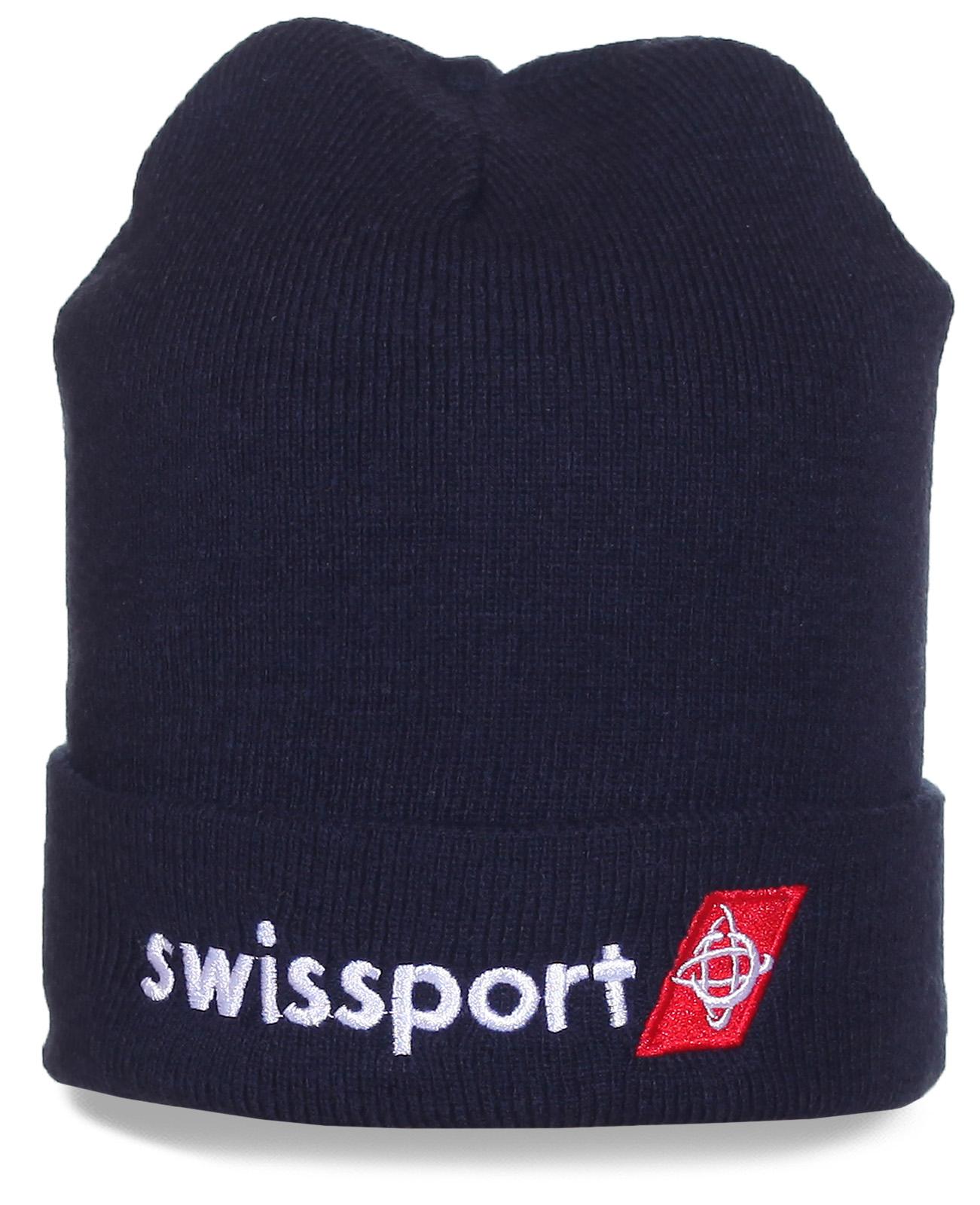 Модная шапка Swissport - выбор спортивных людей