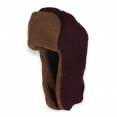 Модная шапка-ушанка