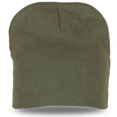 Модная шапка цвета хакина каждый день