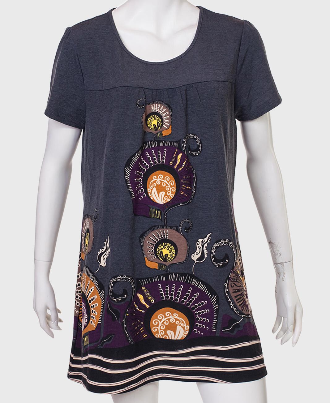 Купить модную тунику свободного кроя от DPM by Depech Mod