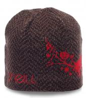 Модная женская шапка O`Neill на флисе. Уютная модель для любой погоды