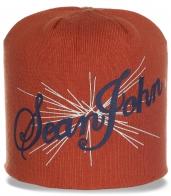 Модная женская шапка Sean John. Стильная и удобная модель на каждый день