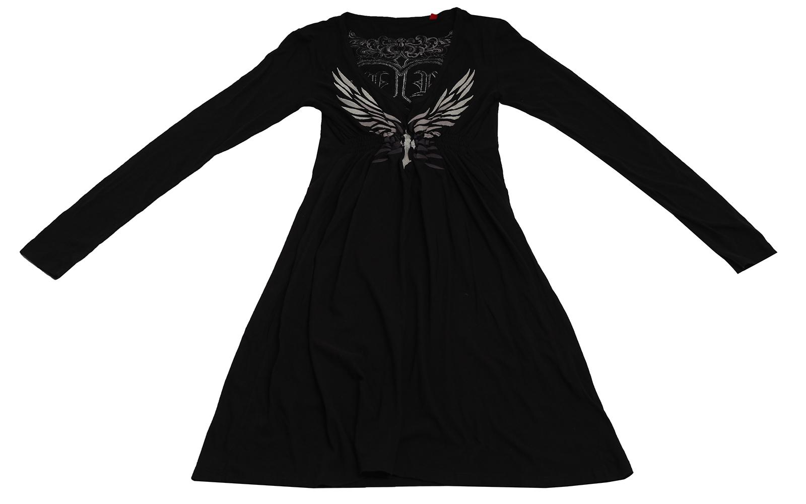 Модное платье Rock&Roll - удобная и стильная модель из 100% хлопка