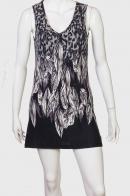 Модное платье-туника для девушки.