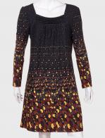 Модное женское платье с красивым принтом от Lord Ritsen