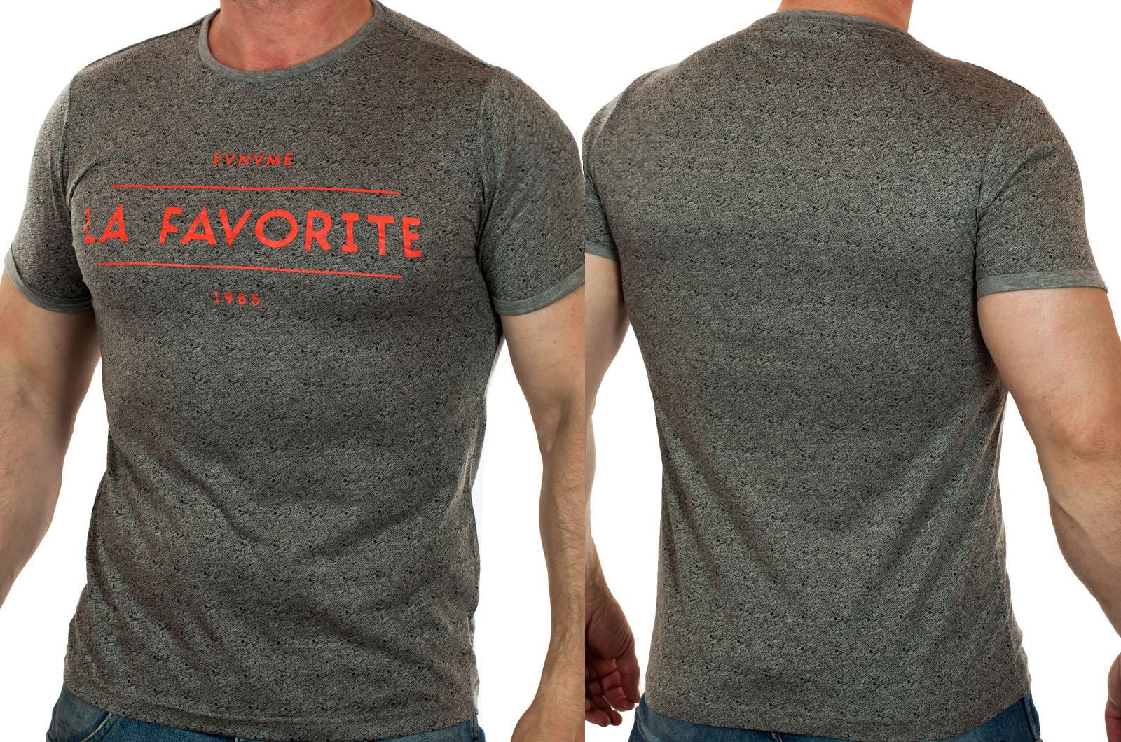 И создали дизайнеры модную мужскую футболку Splash, и увидели, что это хорошо…