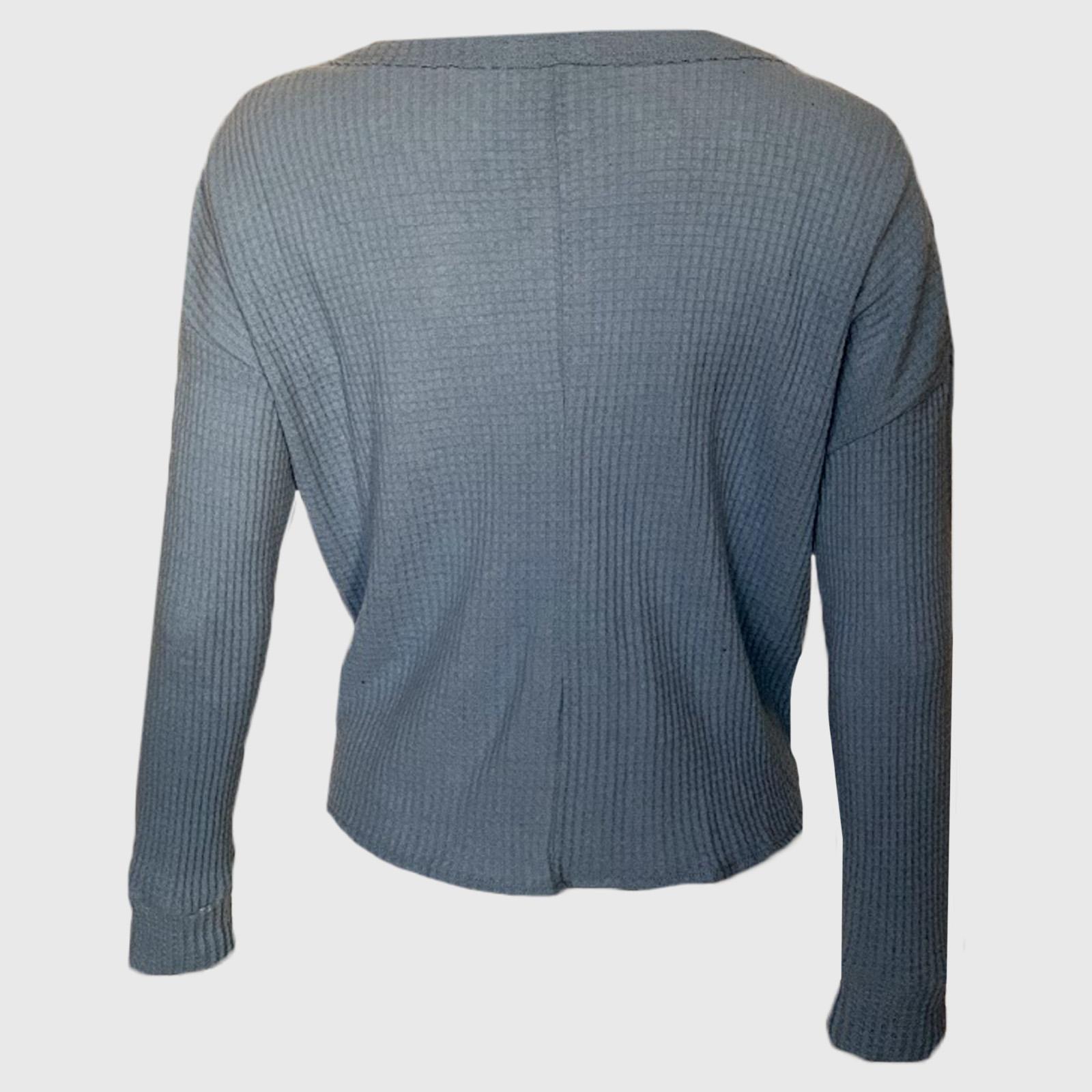 Купить в интернет магазине женскую кофту с завязкой на поясе