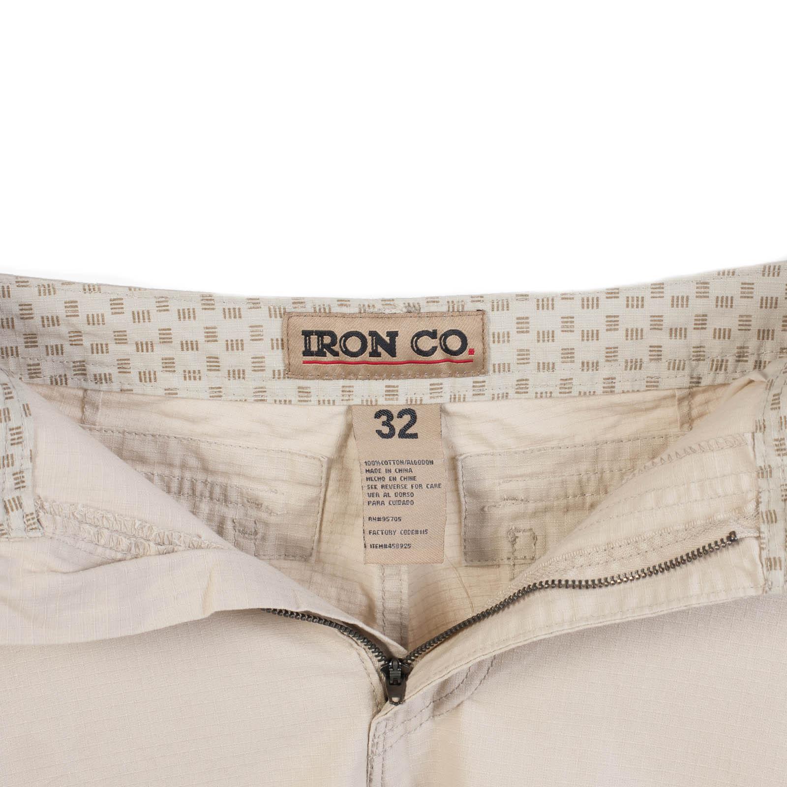 Модные белые шорты от Iron Co., США