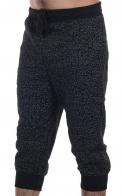 Модные мужские бриджи на флисе от японского бренда Vibes Gold Jogger