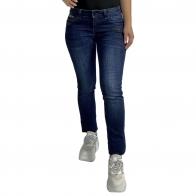 Модные женские джинсы L.M.V. с вышивкой