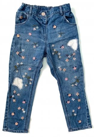 Модные джинсы для маленьких красавиц