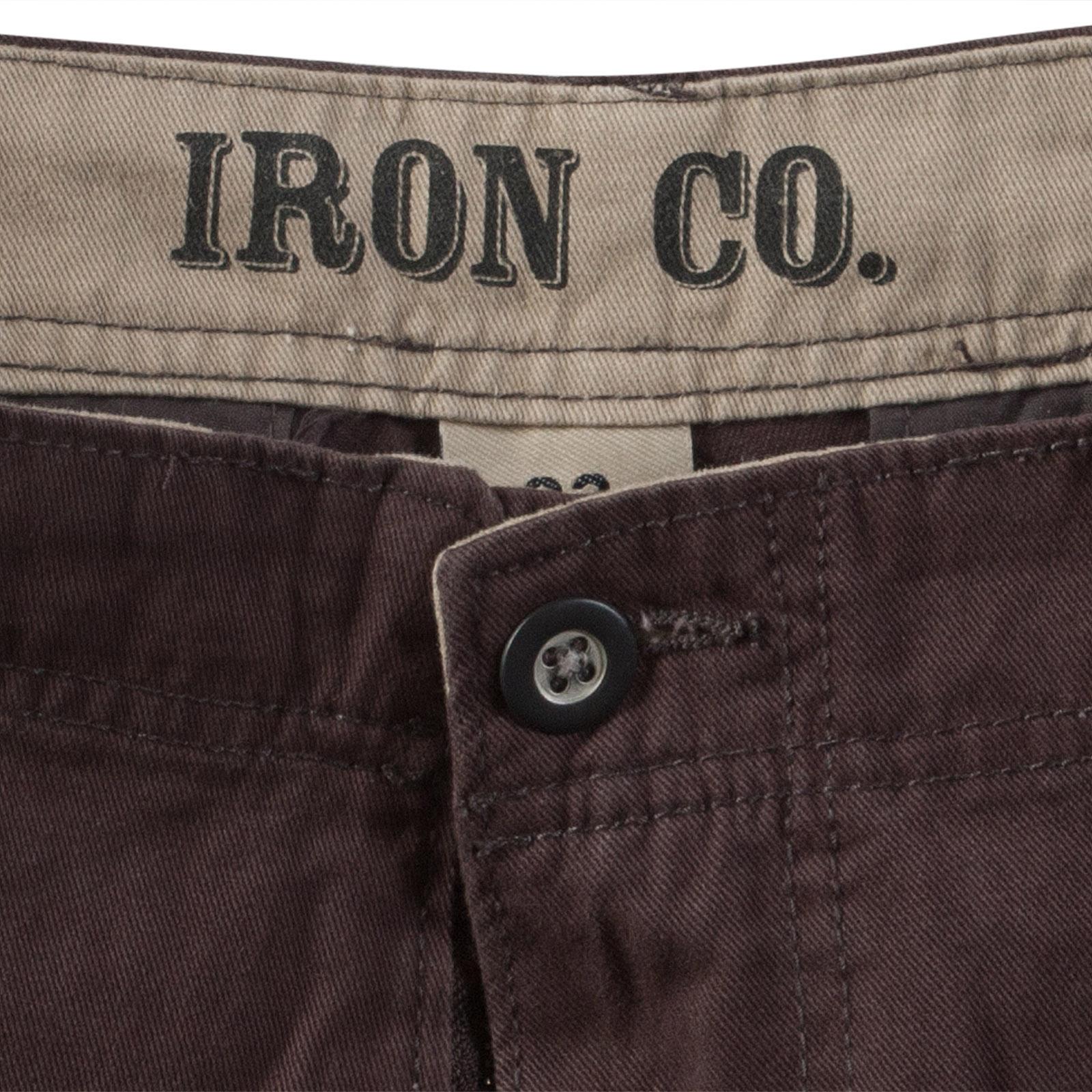 Модные коричневые шорты - производитель Iron Co.