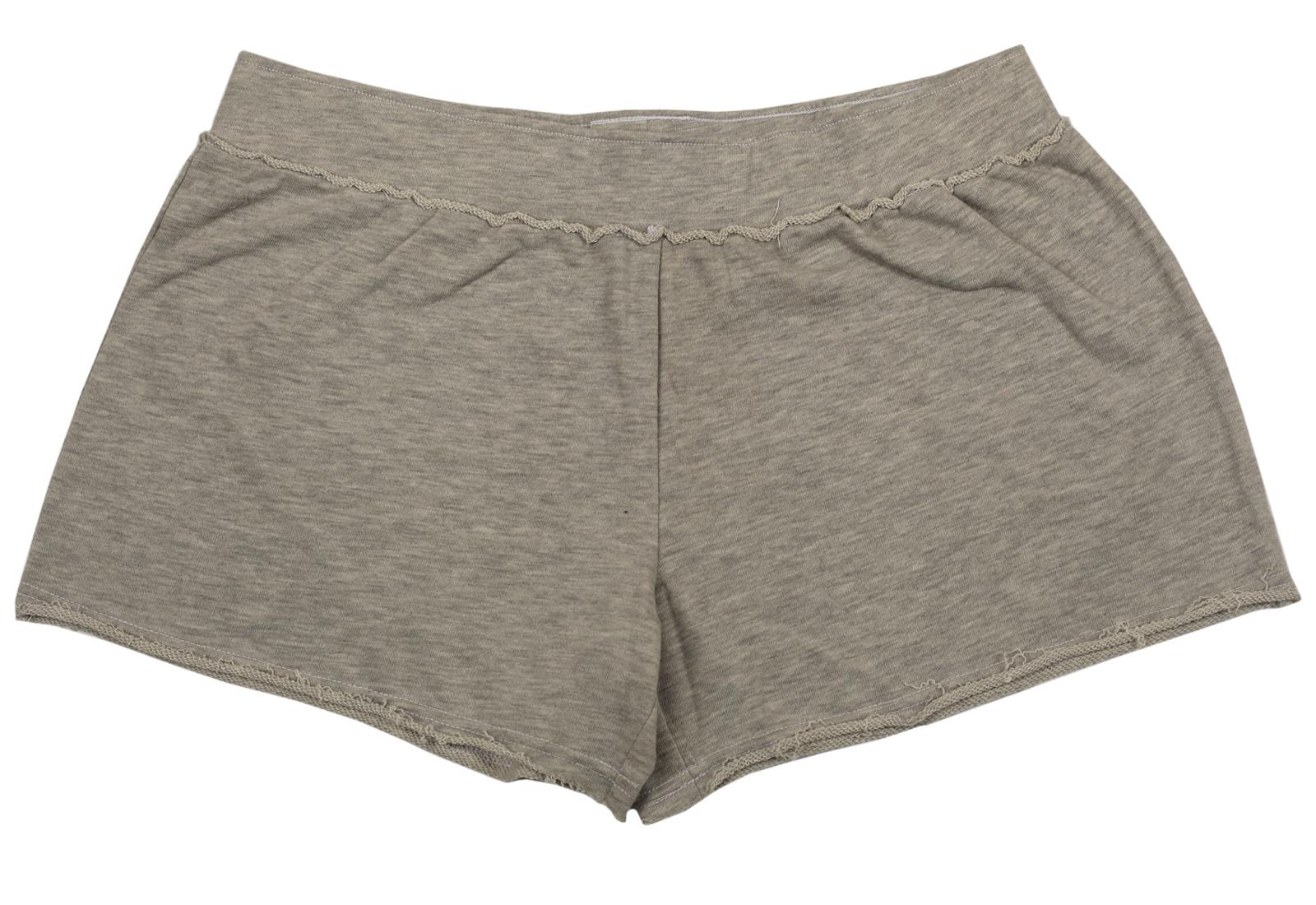 Модные серые шорты для очаровательных девушек. Стильная и практичная модель