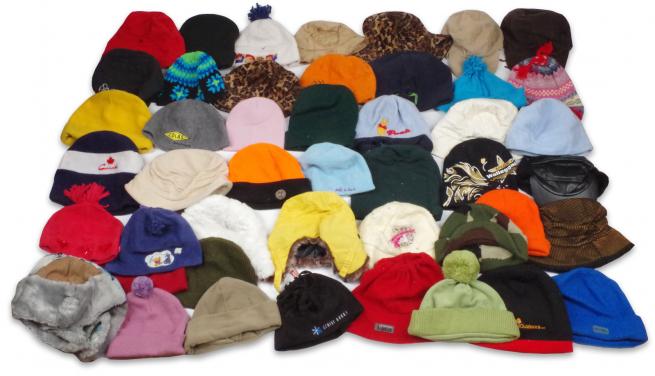 Модные шапки для женщин и мужчин: 117 штук за 100 рублей