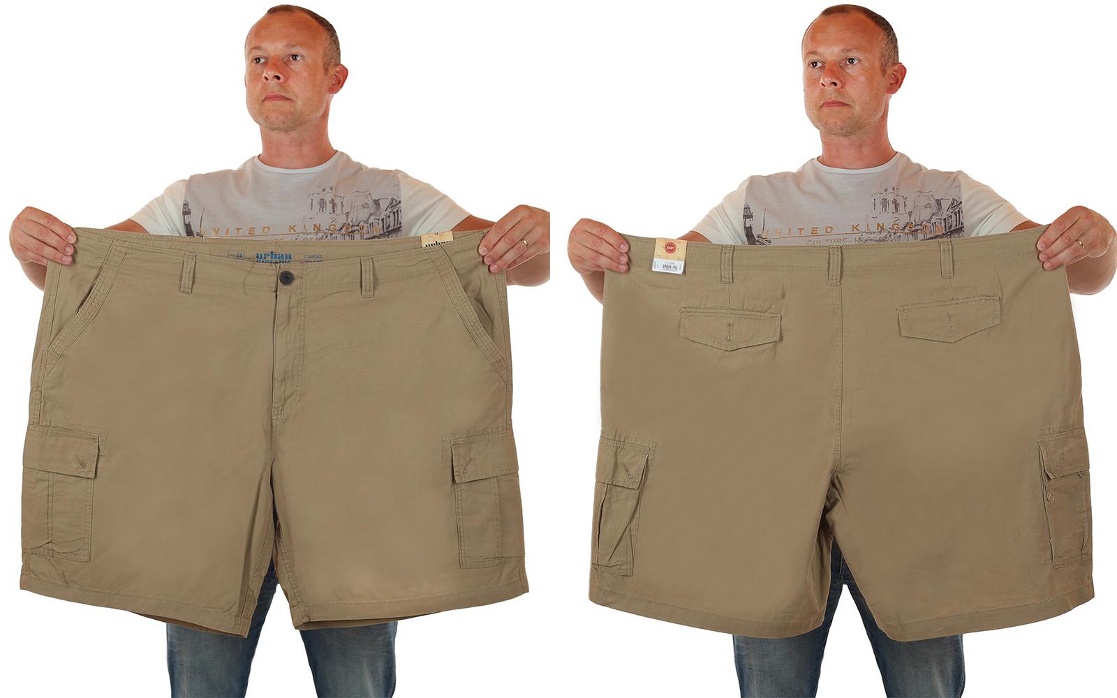 Модные шорты баталы от Urban для сильных и стильных мужчин по лучшей цене