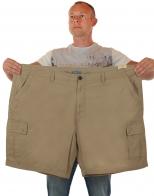 Модные шорты баталы от Urban для сильных и стильных мужчин