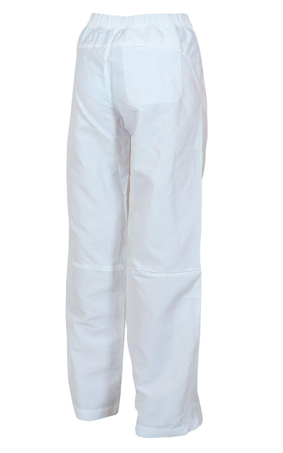 Модные спортивные брюки для женщин - вид сзади