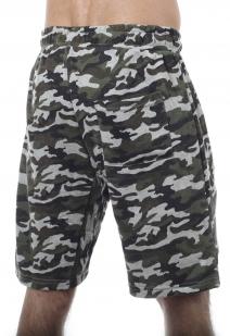 Модные трикотажные шорты с нашивкой Росгвардия - купить онлайн