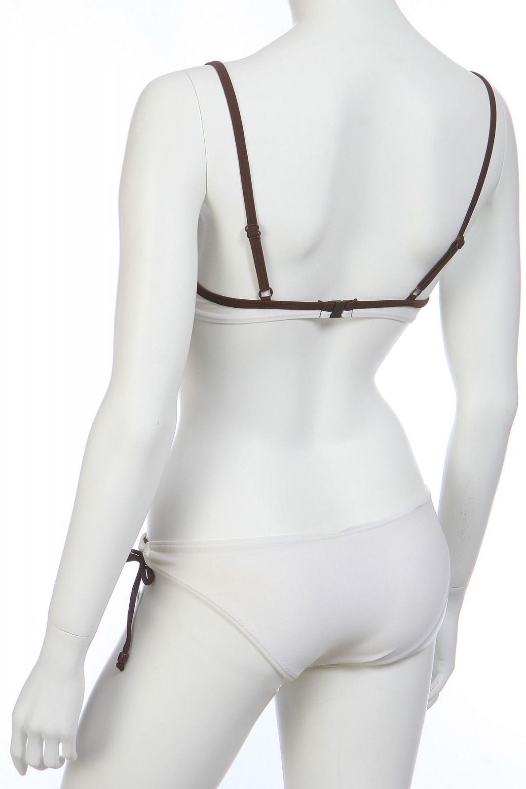 Модный купальник с косточками - вид сзади