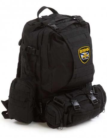 Модульный военный рюкзак Assault с нашивкой ВМФ - купить онлайн