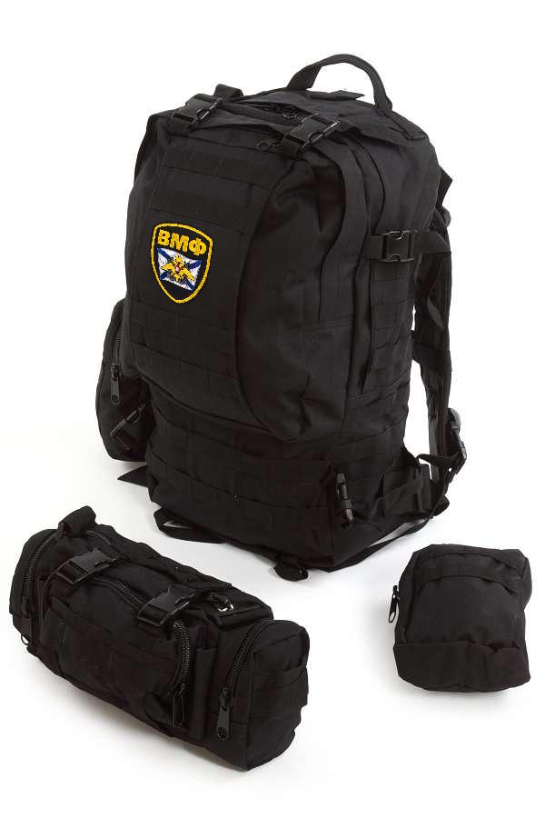 Модульный военный рюкзак Assault с нашивкой ВМФ - заказать с доставкой