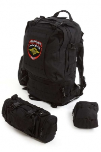 Модульный военный рюкзак с нашивкой Полиция России - заказать в подарок
