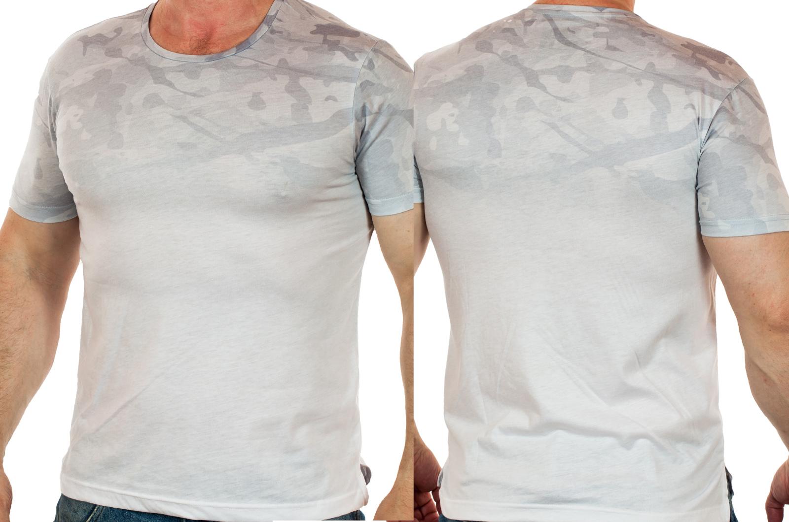 Молодежная мужская футболка Max Youngman с мягким 3D-переходом